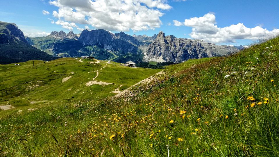 Image: trekking in the Dolomites